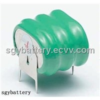 NI-MH 3.6V 160mAh Button Cell Pack