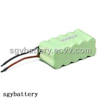 NI-MH AA 2000mAh 12V Rechargeable Battery Pack