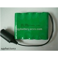 NI-MH SC3300mAh 12V Rechargeable Battery Pack