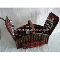 New all handmake wicker craft willow pacnic basket ZYB-006