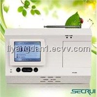 New design TFT display contact ID function wireless Home Alarm System