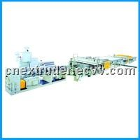PP/PC Hollow Grid Board Production Line