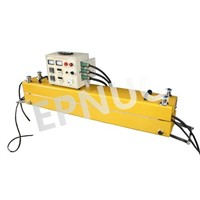PVC/PU conveyor belt hot vulcanizing press for belt repair