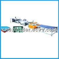 PVC Wavy Board & Trapezoidal Board Production Line