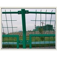 PVC  galvanized wire mesh fence