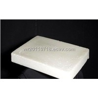 Paraffin Wax particles and slab