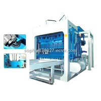 QT 8-15 FULLY AUTO HYDRAULIC BRICK MAKING MACHINE