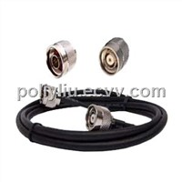 RF interface cable with N male