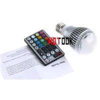 RGB E27 9W LED Lamp Bulb 2 million colors