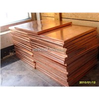Red Copper Sheet(width :20mm~1200mm thickness:>0.05mm )