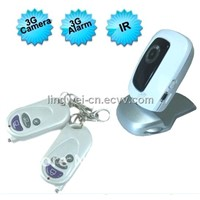 Remote Control 3G Camera-Real Time Video Monitor DVR With Automatic Alarm and SMS (LW-GSC609)