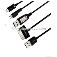 Samsung connect cable, black (USB cable)