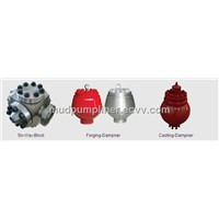 Shine offers discharge manifold and pulsation dampener and six-way block