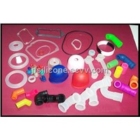 Silicone gaskets, seals and pipes