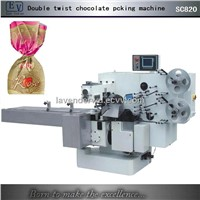 Single twist chocolate packing machine
