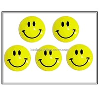 Smile Face Magnetic Badge