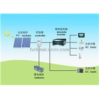 Solar power system design and installation