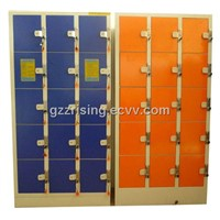 Steel Storage Locker for supermarket hypermarket shopping mall