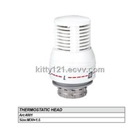 THERMOSTATIC HEAD(TRV HEAD)/M30*1.5 THERMOSTATIC HEAD/NICKEL PLATED TRV HEAD