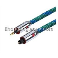Toslink cable (high quality),metal shell