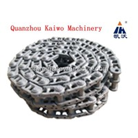 Track link chain for excavator and bulldozer