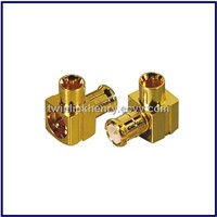 Twinlink communication MCX rf coaxial connector male right angle