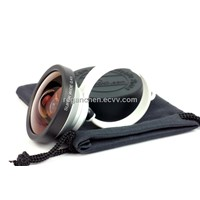 Universal 0.4X Super Wide Angle Lens for iphone 5,iphone 4/4s