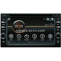 Universal 2 din  Car DVD Player (AD-6501)