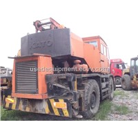 Used Rough Terrain Crane Kato 25 Ton