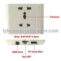 Voice Control Socket Camera Recorder-Hidden Camera (Ly-Hc002)