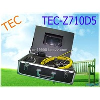 Waterproof CCTV Camera Pipe Inspection Camera,Sewer Camera TEC-Z710D5