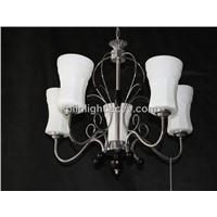 White Glass Chandelier/Decoretive Chandelier