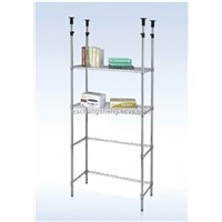 Wholesale Unshakable Chrome Wire Shelving Rack