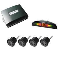 Wireless 4 sensor + LED Display car parking sensor system