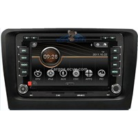 car stereo gps navigation for Skoda superb with bluetooth radio canbus USB ipod 3D UI