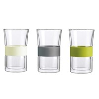 dobule wall glass cup