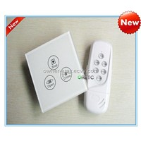 electromotion touch screen curtain switch used for curtains with blue LED