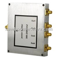 high power divider 800-2500MHz 4 way Power Divider SMA female connector