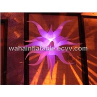 hot sale inflatable star for 2012 nightclub decoration