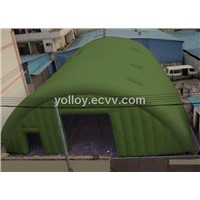 Large Military Inflatable Event Tent with Clear Sky Windows
