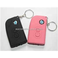 Latest Model Mini Car Key Stun Gun Self Defense with 14500 Battery