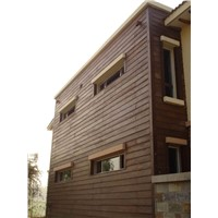 low carbon wood cladding