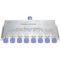 microwave power splitter 800-2500MHz 8 way Power Divider N female connector