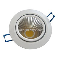 new design!!1700lm high output 15w cob led downlight
