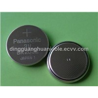 panasonic CR2032 lithium battery button-cell battery