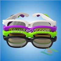 passive 3d glasses for 3d cinema and normal 3d tv