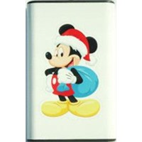 power pack  external battery / you can put any picture on it single face