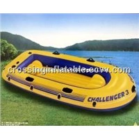 pvc 3 people inflatable fishing boat for sale