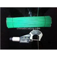 pvc coated straightened cut wire