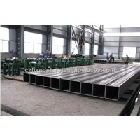 rectangular steel pipe/rectangular tube/rectangular hollow sections RHS